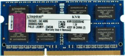 Buy Kingston ValueRAM DDR3 4 GB Laptop RAM (KVR1333D3S9/ KVR13S9S8/4): RAM