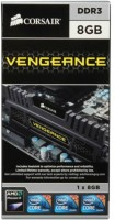 Corsair Vengeance 1866Mhz DDR3 8 GB PC (CMZ8GX3M1A1866C10 - Black)