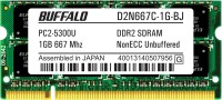 Buffalo Original DDR2 1 GB (1 x 1 GB) Laptop SDRAM (B24201506-24)