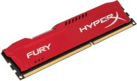 Kingston HyperX Fury DDR3 8 GB (1 X 8 GB) PC (HyperX Fury HX316C10FR/8) (Red)