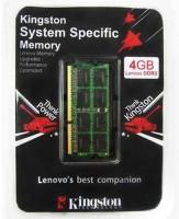 Kingston Best Companion DDR3 4 GB (1 X 4GB) Laptop (Kingston Ktl-Tp3c/4gfr) (Black)