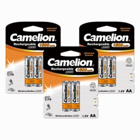 Camelion NH-AA1500BC2 x 3 PACK Rechargeable Ni-MH Battery