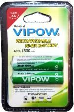 Vipow 1.2 v AA 1800 1 Pcs