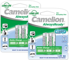 Camelion NH-AA1000ARBP2 x 2 PACK Rechargeable Ni-MH Battery