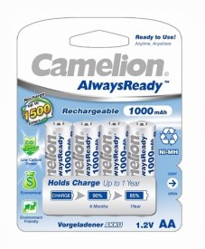 Camelion NH-AA1000 ARBP4 Rechargeable Battery