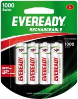 Eveready Ultima 1000 Series AA NIMH (4 Pcs) Rechargeable Battery: Rechargeable Battery