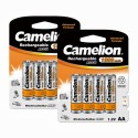 Camelion NH-AA1300BP4 *2 PACK Rechargeable Battery