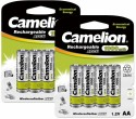 Camelion NH-AA1000ARBP4 *2 PACK Rechargeable Battery
