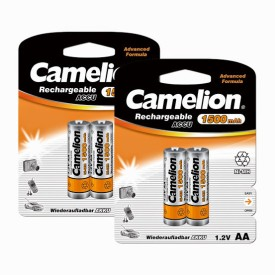 Camelion NH-AA1500BC2 x 2 PACK Rechargeable Ni-MH Battery