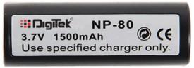 Digitek Fuji NP-80 Rechargeable Li-ion Battery