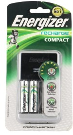 Energizer W/Charger 2AA 1400 mAh
