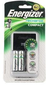 Energizer 2AA 1400mAh Rechargeable Battery Charger