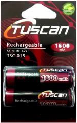 Tuscan AA 1600mAh 1 Pack