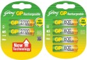 Godrej Gp Combo 2700 & 600 Mah Rechargeable Ni-MH Battery