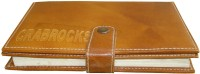Crabrocks Leather Book Holder BH_2 2-Part Record Keeping Book (100 Sets, Based)