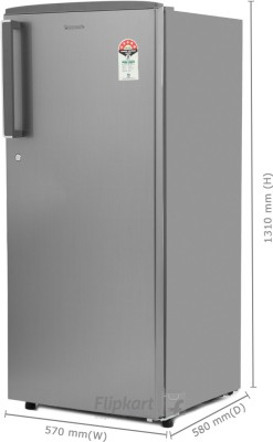 Panasonic 215 L Direct Cool Single Door Refrigerator (NR-A221STSFP/A221STSSP, Stainless Steel)