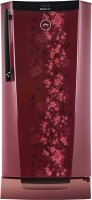 Godrej 212 L Direct Cool Single Door Refrigerator (RH EdgeDigi 212 PDS 6.2, Wine Spring)