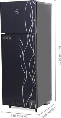43308bf0c Godrej 343 L Frost Free Double Door Refrigerator (RT EON 343 SG 2.4 ...