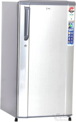 Haier 181 L Direct Cool Single Door Refrigerator (HRD-2015CS-H, Hairline Silver)