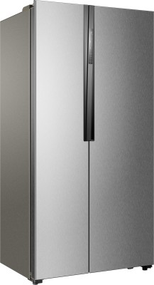 Haier 565 L Frost Free Side by Side Refrigerator (HRF-618SS, Grey)