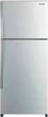 Hitachi 253 L Frost Free Double Door Refrigerator (R-H270PND4K (SLS), Silver)