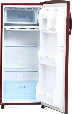 GEM 180 L Direct Cool Single Door Refrigerator (GRD 2004BRWC/DGWC, Burgundy Red)