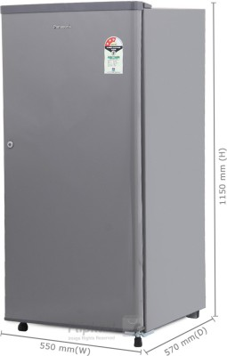 Panasonic 190 L Direct Cool Single Door Refrigerator (NR-A195RMP/RSP, Silky Grey)