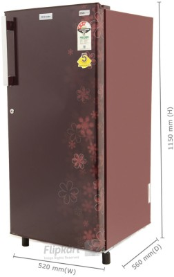 Electrolux 190 L Direct Cool Single Door Refrigerator (EJ203LTEBE, EURO Burgundy Eva)