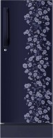Haier 195 L Direct Cool Single Door Refrigerator (HRD-2157PBD-R, Blue Floral)