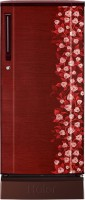 Haier 190 L Direct Cool Single Door Refrigerator (HRD-2105PRI-H, Red Floral)