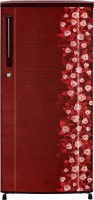 Haier 181 L Direct Cool Single Door Refrigerator (HRD-2015CRI-H, Red Floral)