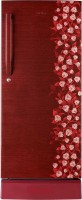Haier 195 L Direct Cool Single Door Refrigerator (HRD-2157PRI-R, Red Floral)
