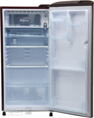 LG 190 L Direct Cool Single Door Refrigerator (GL-D201ASLN, Scarlet Lily)