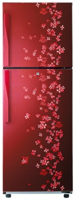 Samsung RT27HAJSARY 253 L Double Door Refrigerator Sanganeri Ring Red available at Flipkart for Rs.21990