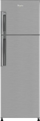 Whirlpool 265 L Frost Free Double Door Refrigerator (Neo FR278 PRM, Nova Steel)