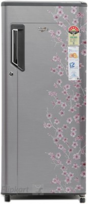 Whirlpool 200 L Direct Cool Single Door Refrigerator (215 IMFRESH PRM 5S, Silver Bliss)