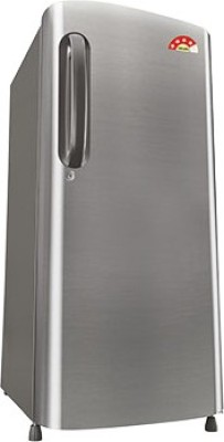 LG 190 L Direct Cool Single Door Refrigerator (GL-B201APZL, Shiny Steel)