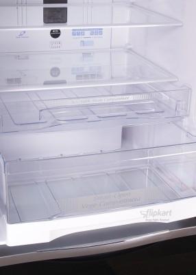 Hitachi 510 L Frost Free Side by Side Refrigerator (R-WB550PND2, Glass Black)
