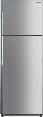 Hitachi 318 L Frost Free Double Door Refrigerator (R-H350PND4K (SLS), Metallic Silver)