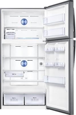 SAMSUNG 318 L Frost Free Double Door Refrigerator (RT34K3983SL, Easy Clean Steel)