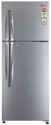 LG 258 L Frost Free Double Door Refrigerator (GL-B292SGSM, Graphite Steel)