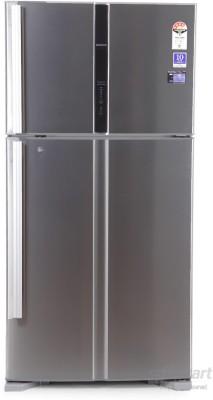 View Hitachi R-V660PND3KX 601 L Double Door Refrigerator Price Online(Hitachi)