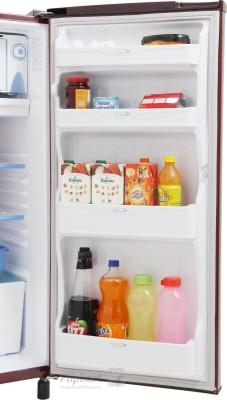 Sansui 150 L Direct Cool Single Door Refrigerator (SH163BBR-FDA, Burgundy Red)