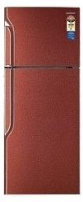 Samsung RT26GCPR Double Door   Top Freezer 255 Litres Refrigerator Paisley Red available at Flipkart for Rs.18620