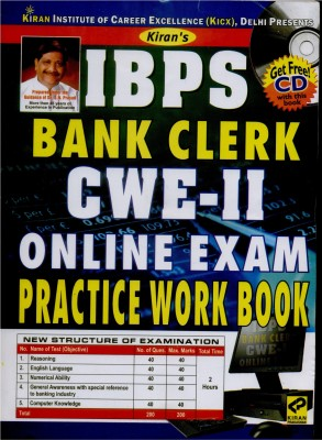 Buy IBPS Bank Clerk CWE-II ONLINE Exam Practice Work Book (With CD): Regionalbooks