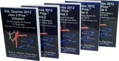 Buy SQL Queries 2012 Joes 2 Pros Combo Kit (Set of 5 Volumes): Regionalbooks