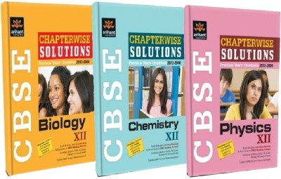 Buy CBSE PCB Chapter Wise Solution for Class - 12 (Set of 3 Books): Regionalbooks