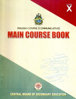 Buy English Course Communicative: Main Course Book Interact In English (Class - 10): Regionalbooks
