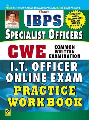 Buy IBPS CWE Common Written Examination: Specialist Officers I.T. Officer Online Exam Practice Work Book: Regionalbooks
