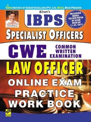 Buy IBPS Specialist Officer CWE LAW Officer Online Exam Practice Work Book: Regionalbooks
